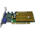 Jaton Video 338PCI-128Twin - Graphics Adapter - GF 6200 - PCI - 128 MB DDR