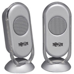 Tripp Lite Portable Speakers - Portable Speakers - USB - Silver