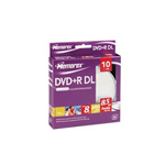 Imation 10PK MEMOREX DVD+R 8.5GB DL 8X SPINDLE