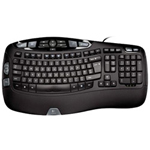 Logitech Wave Keyboard - Keyboard
