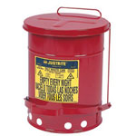 Justrite 14 Gallon Oily Waste Canw/Lever