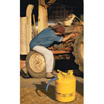 "Justrite 5 Gallon Yellow Safety Can Type Ii 1"" Hose"