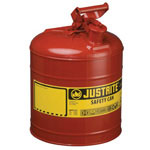 Justrite 2.5g/9.5l Safe Can Red