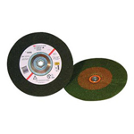 "3M Green Corps Depressedcenter Wheel 4-1/2"" x 1/4"""