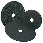 3M Fibre Discs 988C, Ceramic/Regular Alumina Mix, 7 in Dia., 24 Grit