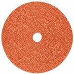 3M Cubitron II Fibre Discs 987C, Precision Shaped Ceramic Grain, 7 in Dia., 36 Grit