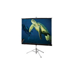Draper Diplomat projection screen with tripod