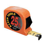 "Klein Tools 1"" x 25' Hi-viz Orange Pow"