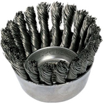 "Advance Brush P.o.p. 4"" Knot Wire Cup Brush .023, Carbon Steel Wire"