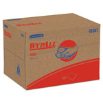 WypAll* X80 Cloths, BRAG Box, HYDROKNIT, Blue, 12 1/2 x 16 4/5, 160 Wipers/Carton