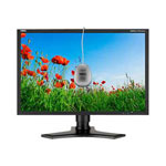 "NEC MultiSync LCD2490W2-BK-SV - LCD display - TFT - 24"" - with SpectraViewII Color Calibration Solution"