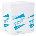 "Kimberly-Clark Wypall X50 Teri Wipe 13"" x 13.5"" white 76/roll"