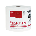 "Kimberly-Clark 12"" x 13.4"" White Jumbo Rag-on-a-roll 1-ply 920/r"