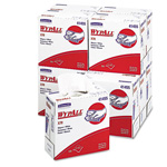 WypAll® X70 Cloths, POP-UP Box, 9 1/10 x 16 4/5, White, 100/Box, 10 Boxes/Carton