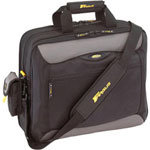 "Targus TCG417US 17"" CityGear Los Angeles Notebook Case Notebook Carrying Case - Gray, Black, Yellow"