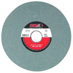 "CGW Abrasives 7"" x 1"" x 1-1/4"" T5 Gc80-i-v Green Silicon Carbide Surf"
