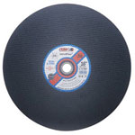 "CGW Abrasives 16"" x 5/32"" x 1 A24-t-bf Stationary Saw Blade Cutoff"