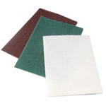 "CGW Abrasives Medium Duty Green 6"" x 9"" hand Pad 10/pk"