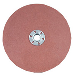 "CGW Abrasives 7"" x 5/8""-11 A/O 80 Grit-flat Quick Change Resin"