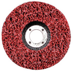 "CGW Abrasives 4 1/2"" x 5/8""-11 Sil Carbide Xtra Coarse-red"
