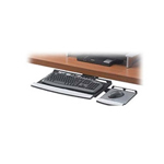 Fellowes Adjustable Keyboard Manager keyboard platform with mouse tray
