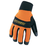 Ironclad Cold Condition Safety Orange Glove Size Large