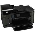 HP 6500A Officejet Plus Color Inkjet Printer (Copier/Printer/Scanner/Fax)