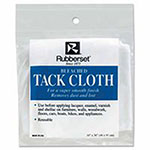 Rubberset Clear 18 in X 36 in Tack Cloth