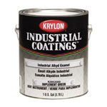Krylon 53 Series Industrial Alkyd Enamel Paint, 1 gal, Gloss White