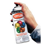 Krylon Flat White Five Ball Interior/Exterior Spray Pai