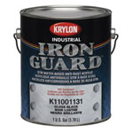 Krylon Gallon Flat Black Iron Guard Paint