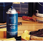 Sprayon Paint-All Fast-Dry Enamel Paint, 10 oz, Chrome Aluminum