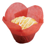 Hoffmaster Cup, Baking Lotus Red Small 1-1/4X1-1/2 - 2-1/4