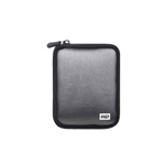 Western Digital My Passport Neoprene Case Silver WDBABK0000NSL - storage drive carrying case