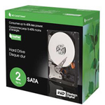 Western Digital Caviar Green WD20000CS - hard drive - 2 TB - SATA-300