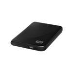 Western Digital My Passport Essential WDBAAA2500ABK - Hard Drive - 250 GB - Hi-Speed USB