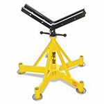 Sumner BASIC MAX-JAX W/VEEHEAD, Max-Jax Pipe Stands, Holds Up To 36 in Pipe Diameter
