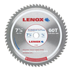 "Lenox 7-1/4"" 60t Aluminum Metal Cutting Saw Blade"