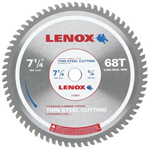 "Lenox 7-1/4"" 68t Thin Steel Metal Cutting Saw Blade"