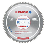 "Lenox 10"" 80t Aluminum Metal Cutting Saw Blade"