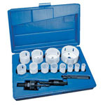 Lenox 1200g Deluxe Hole Saw Kit 17 Pcs In A Plasti
