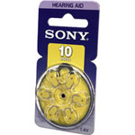 Sony PR10-D6A - battery - PR70 - zinc air x 6