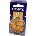 Sony PR13-D6A - battery - PR48 - zinc air x 6