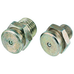 "Lincoln Industrial 1/4"" NPT Button Head Fitting Zinc/yellow"
