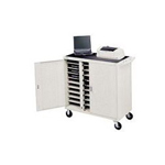 Bretford Laptop Storage Cart LAP30EULFR-GM - Notebook storage cart