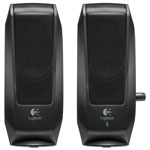 Logitech S-120 - PC Multimedia Speakers - 2.3 Watt (total) - Black