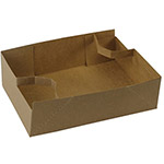 BOXit #1 Carry Out Tray, 4 Cup