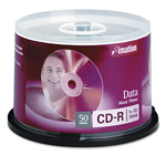 Imation 50 x CD-R - 700 MB (80min) 52X - Storage Media
