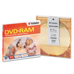 Verbatim DVD-RAM - 4.7 GB 3X - Storage Media
