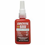 Loctite 680 Retaining Compound, 50 mL Bottle, Green, 4,000 psi